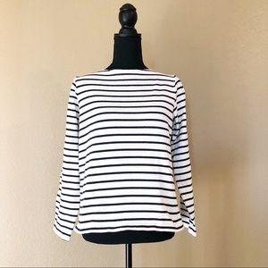 Uniglo striped top size medium